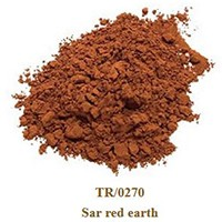 Pigment Sar red earth 100g.