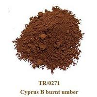 Pigment Cyprus B burnt umber 100g.
