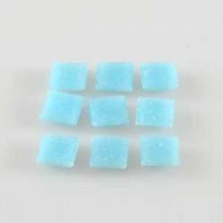 Steklen mozaik 10 x 10mm, Sv. modra 125g. ca 180 kosov
