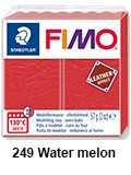Fimo leather effect water melon (8010-249)