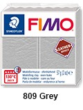 Fimo leather effect dove grey (8010-809)