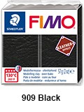 Fimo leather effect black (8010-909)