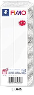 Fimo Soft 450g. 0 Bela (8021-0)