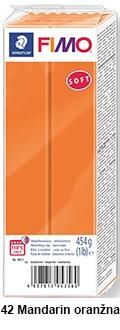 Fimo soft 450g. 42 Oranžna Mandarin (8021-42)