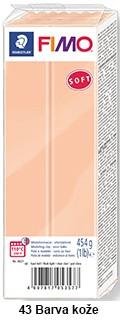 Fimo soft 450g. 43 barva kože (8021-43)