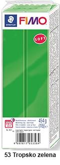 Fimo soft 450g. 53 Tropsko zelena (8021-53)