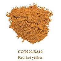 Pigment Red hot yellow 100g.