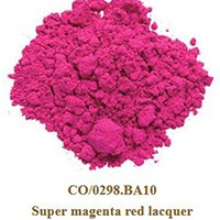 Pigment Super magenta red lacquer100g.