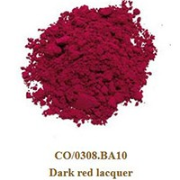 Pigment dark red lacquer 100g.