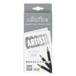 Cretacolor artist studio grafitni svinčniki set 12