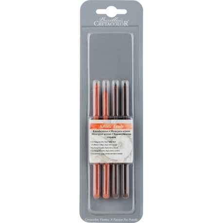 Cretacolor mine 5,6mm 2x 262 12 Sanguine suh, 1x Sepia svetla, 1x Sepia temna