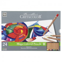 Cretacolor Megacolor barvni svinčniki set 24