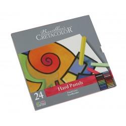 Cretacolor Carre pasteli v kovinski embalaži set 24