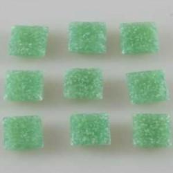 Steklen mozaik 20 x 20mm, sv. zelena 44 kos