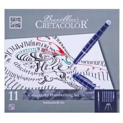 Cretacolor kaligrafski komplet nalivnikov 11 delni