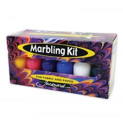 Jacquard Set za Marmoriranje tekstila in papirja