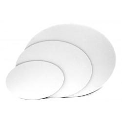 Ovalno platno kaširano na karton