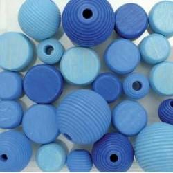 mešane modre 9-12mm 25kos