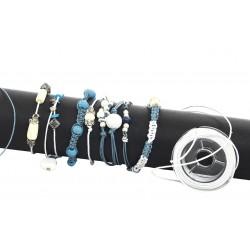 Ustvarjalna delavnica Drobne poletne zapestnice v izbranih barvnih tonih