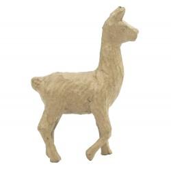 Papmache figura ES Lama 10,5x4x15cm