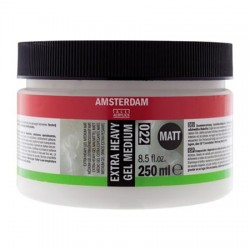Amsterdam Extra Heavy gel medij 250ml mat 022