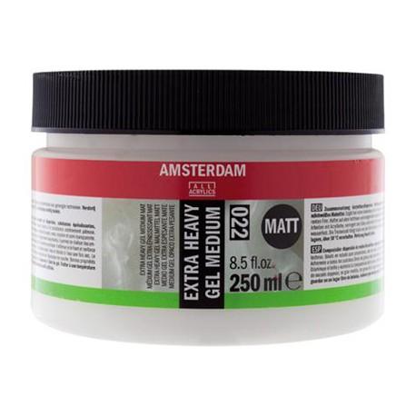 Amsterdam Extra Heavy gel medij 250ml mat 022