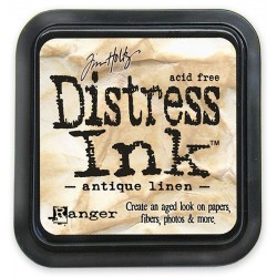 Tim Holtz Distress blazinica 5 x 5cm, Antique linen