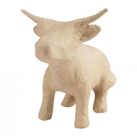 PAPMACHE figura S Bik Kitajski horoskop 17x12x15cm