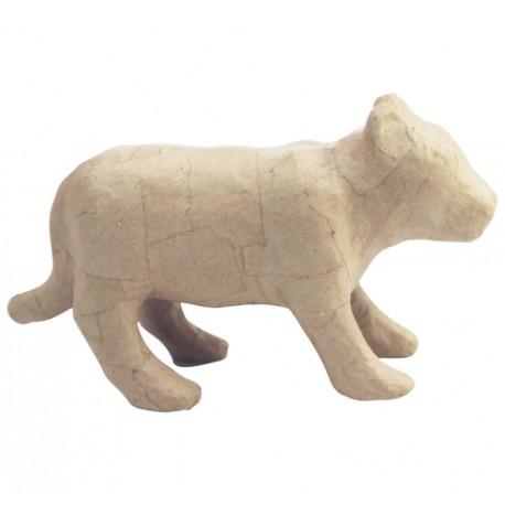 PAPMACHE figura S Tigr Kitajski horoskop 20x7x11,5cm