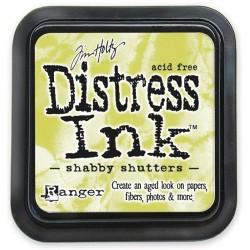 Tim Holtz Distress blazinica 5 x 5cm, Shabby shutters