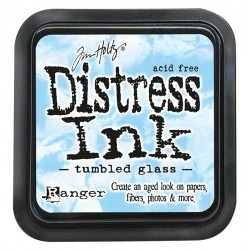 Tim Holtz Distress blazinica 5 x 5cm, Tumbled Glass