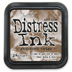 Tim Holtz Distress blazinica 5 x 5cm, Gatherd Twigs