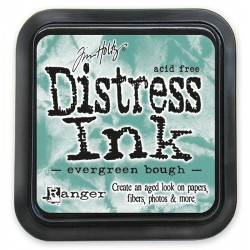 Tim Holtz Distress blazinica 5 x 5cm, Evergreen Bought