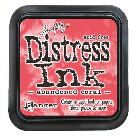 Tim Holtz Distress blazinica 5 x 5cm, Abandoned Coral