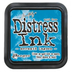 Tim Holtz Distress blazinica 5 x 5cm, Mermaid Lagoon