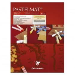 Clarefontaine Pastelmat blok barvni 12 listov