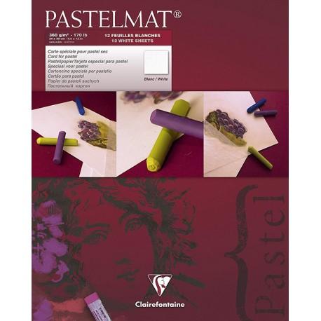 Clairefontaine Pastelmat blok barvni 12 listov