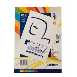 Rcopy color A4 in A3 , 80g. 5x40 listov Intenzivne barve
