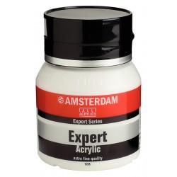 Amsterdam Expert visokokakovostni akril 400ml 105 Titan bela