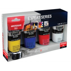 Amsterdam Expert akril 4 x 75ml osnovne barve