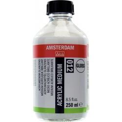 Amsterdam medij za akril svetleč 250ml 012