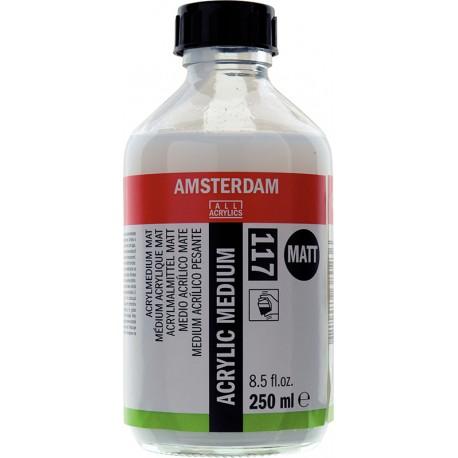 Amsterdam medij za akril mat 250ml 117