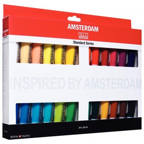 Amsterdam akril 24 x 20ml