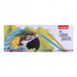 Bruynzeel barvni svinčniki Papiga set 45