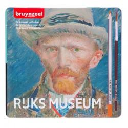 Bruynzeel Van Gogh akvarelne barvice set 24