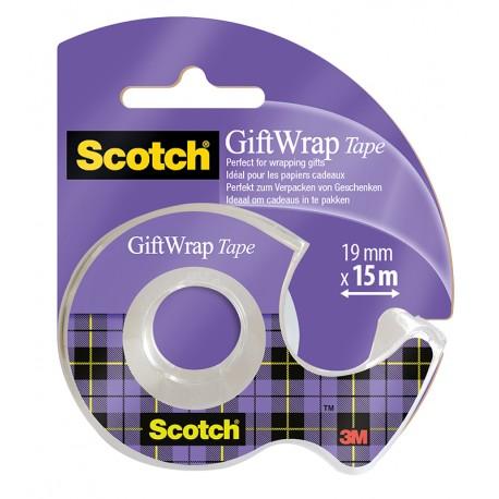 Lepilni trak Scotch Gritwrap na podajalcu 19mmx16,5m