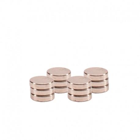 Magnetki mini zelo močni 4 x 1mm 12 kosov
