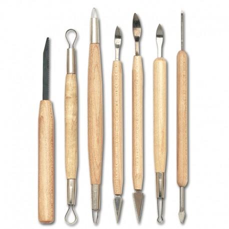Modelirke za glino set 1, Natančne