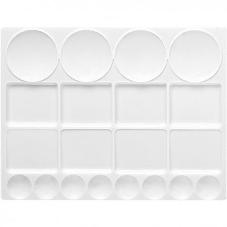 Plastična paleta 32 x 24,5cm 20 vdolbin