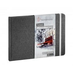 Hahnemuhle toniran akvarel papir blok 200g. 30 listov Siv